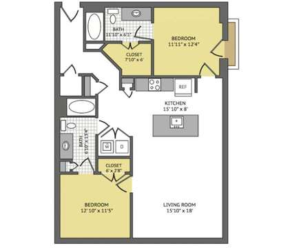 2 Beds - Yale @ 6th at 655 Yale St in Houston TX is a Apartment