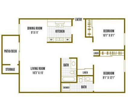 2 Beds - The Palms Apartments at 1481 Exposition Boulevard in Sacramento CA is a Apartment