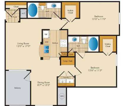2 Beds - The Lodge at Seven Oaks at 2027 Odens Station Ln in Odenton MD is a Apartment