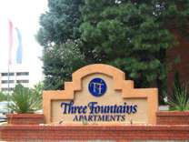 1 Bed - Three Fountains Apartments