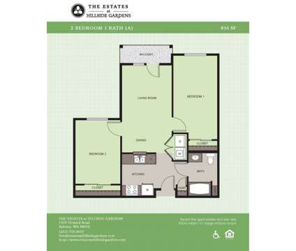 2 Beds - The Estates at Hillside Gardens - 55+ Community at 1919 Howard Rd in Auburn WA is a Apartment