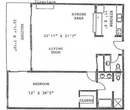 1 Bed - Los Altos Towers Apts at 9125 Copper Avenue Ne in Albuquerque NM is a Apartment