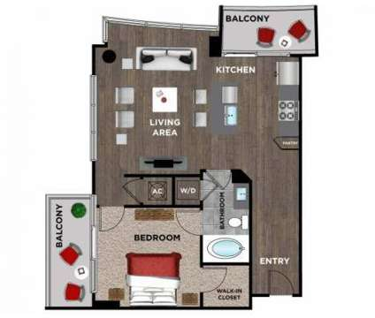 1 Bed - Element Music Row at 1515 Demonbreun St in Nashville TN is a Apartment