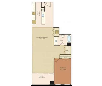 1 Bed - 222 Saratoga Apartments at 222 East Saratoga St in Baltimore MD is a Apartment