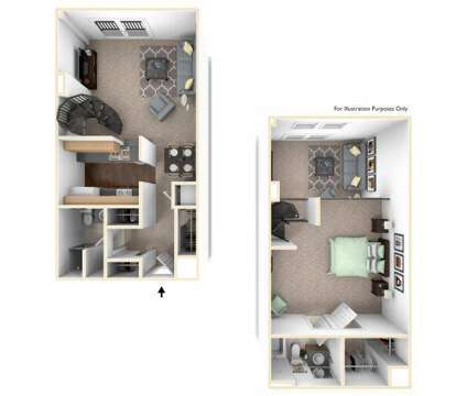 1 Bed - The Atrium Apartments and Lofts at 118 North Howard St in Baltimore MD is a Apartment