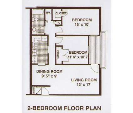 2 Beds - Fox Run Apartments at 1840 Mccullough Drive in Lexington KY is a Apartment