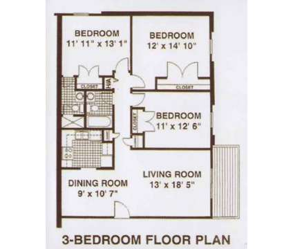 3 Beds - Fox Run Apartments at 1840 Mccullough Drive in Lexington KY is a Apartment
