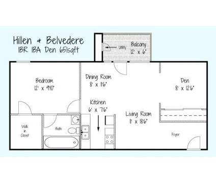 1 Bed - Hillen and Belvedere Apartments at 1658 E Belvedere Avenue in Baltimore MD is a Apartment