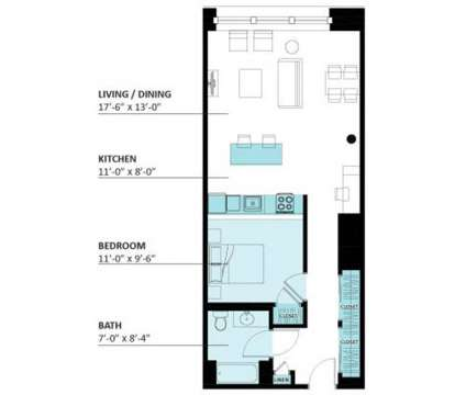1 Bed - Lofts on Arthington at 3301 West Arthington in Chicago IL is a Apartment