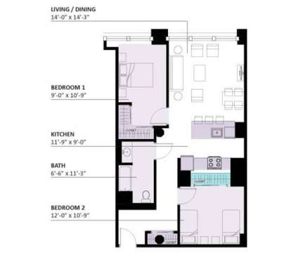 2 Beds - Lofts on Arthington at 3301 West Arthington in Chicago IL is a Apartment