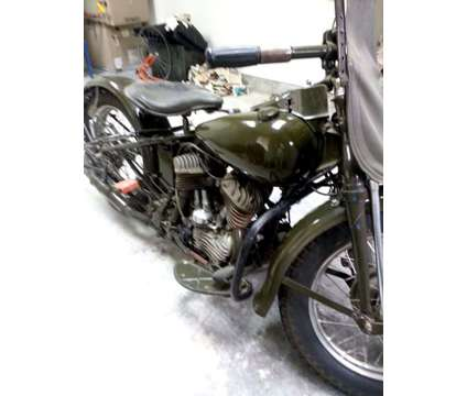 1942 Harley-Davidson 42 WLA is a 1942 Harley-Davidson Classic Motorcycle in Lafayette LA