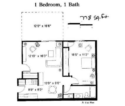 1 Bed - Natick Village at 17 Village Way Apartment 1 in Natick MA is a Apartment