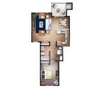 1 Bed - Bellevue Crossing at 488 Ne Bellevue Drive in Bend OR is a Apartment