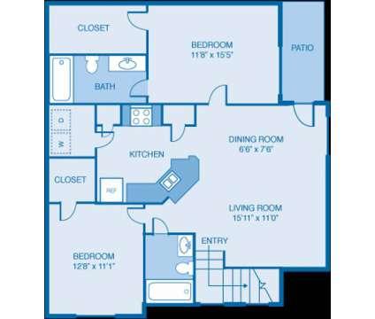 2 Beds - Villas at Cordova at 8546 Prestine Loop in Cordova TN is a Apartment