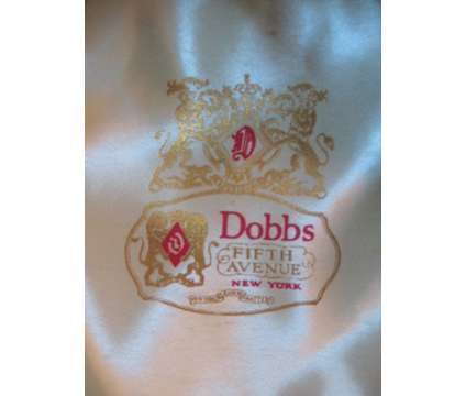"Vintage 1950s Dobbs Twenty 2"" Brim Fedora Black Hat Size 7 1/4"" is a Black Collectibles for Sale in Cape Coral FL"