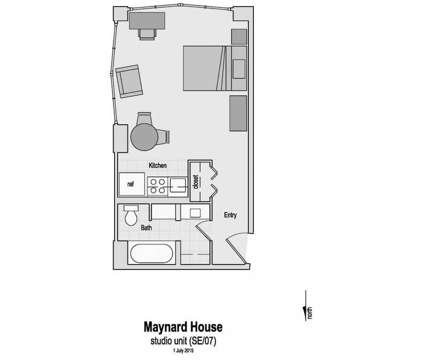 Studio - 400 Maynard at 400 Maynard St in Ann Arbor MI is a Apartment