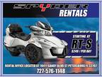 2017 Can-Am Spyder Rt-S Se6 - Rent ME