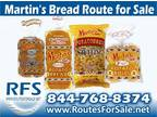 Business For Sale: Martin's Potato Bread Route
