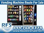 Business For Sale: Snack And Soda Vending Route