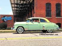 "1950 Chevrolet Styleline Deluxe 2-Door Sedan (1950Chevrolet ""dot"" ""com"")"