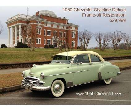 "1950 Chevrolet Styleline Deluxe 2-Door Sedan (1950Chevrolet ""dot"" ""com"") is a 1950 Chevrolet Styleline Deluxe Classic Car in Cleveland TN"