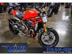 2016 Ducati Monster 821 1200 S Red