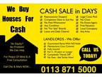 We buy houses for cash! no equity, no problem! we can help!