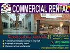 For rent commercial space
