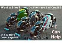 Bad Credit Financing For Motorcycle, JetSki, Atv, Side x Side