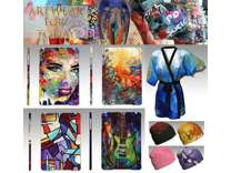 Apparel and Accessories with Original Artwork Design Prices Vary