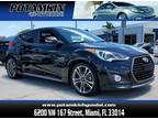 2016 Hyundai Veloster Turbo Base 3dr Coupe 6M w/Black Seats