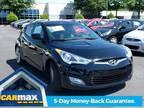 2012 Hyundai Veloster Base 3dr Coupe w/Black Seats