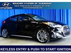 2017 Hyundai Veloster Turbo Base 3dr Coupe 6M w/Black Seats