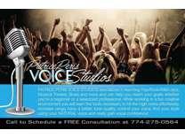 FREE Voice Consultation at Patrice Peris Voice Studios