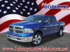 2017 RAM 1500 Blue, 13 miles