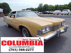 1973 Yellow Pontiac Grand Ville