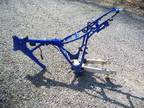 2002 Yamaha TTR 125 Dirt Bike Frame