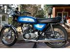1971 Kawasaki 500 H1A, 8,121 miles. Original factory