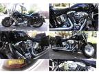 Harley Davidson Fatboy Motorcycle, Chrome Wheels, Apes & More