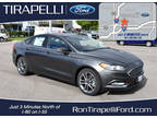 2017 Ford Fusion Gray, new