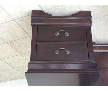 Brand New Dark Cherrywood Queen Bedroom Suite is a Beds for Sale in Chesapeake VA