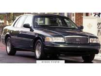 2001 Ford Crown Victoria Commercial Fleet