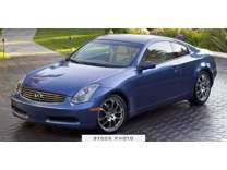 2005 Infiniti G35 Coupe w/6-Speed Manual