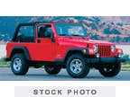 2006 Jeep Wrangler Red