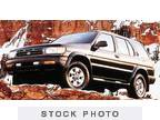 1997 Nissan Pathfinder Black