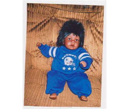 Dallas Cowboy Doll is a Collectibles for Sale in Wescosville PA