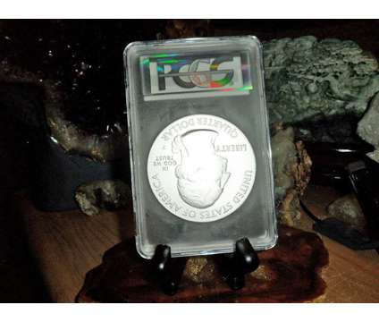 2014-P F/S PCGS SP 70 SHENANDOAH NATIONAL PARK 5 oz. SILVER QUARTER with JOHN M is a Purple Coins for Sale in New York NY