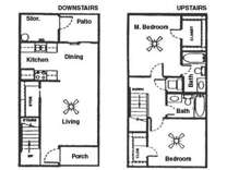 2 Beds - Westwood Townhomes