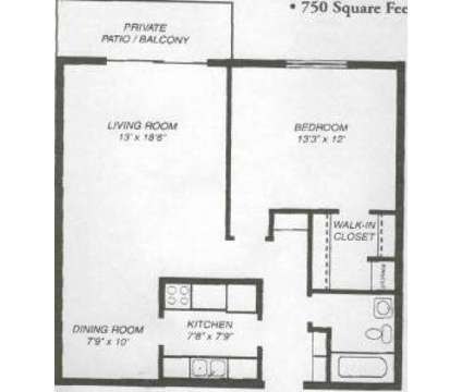 1 Bed - Town Square at 62 South Wolf Rd in Wheeling IL is a Apartment