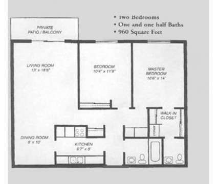 2 Beds - Town Square at 62 South Wolf Rd in Wheeling IL is a Apartment
